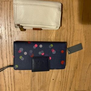 2 fossil wallets